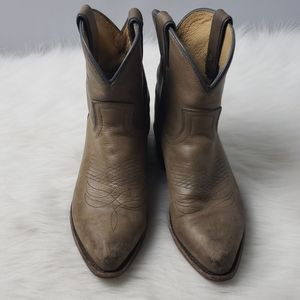 FRYE BILLY SHORT Congac Booties 7.5B